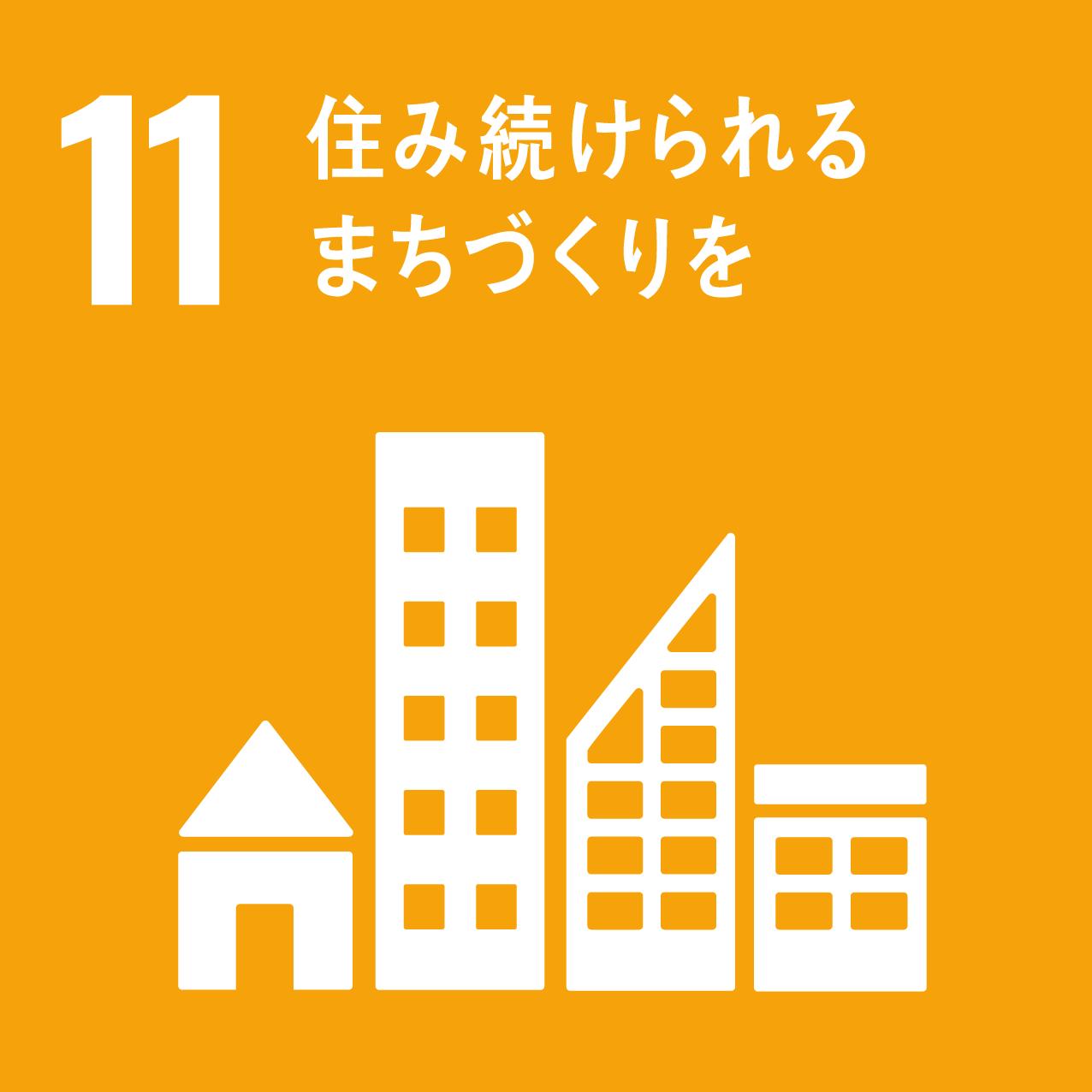 SDG's icon No11