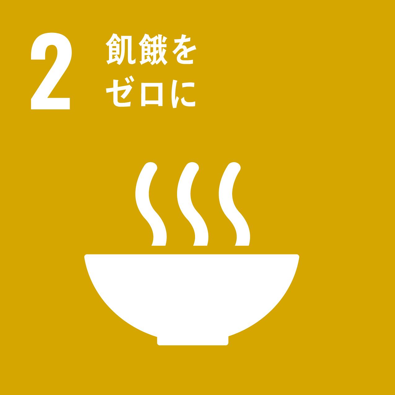 SDG's icon No2