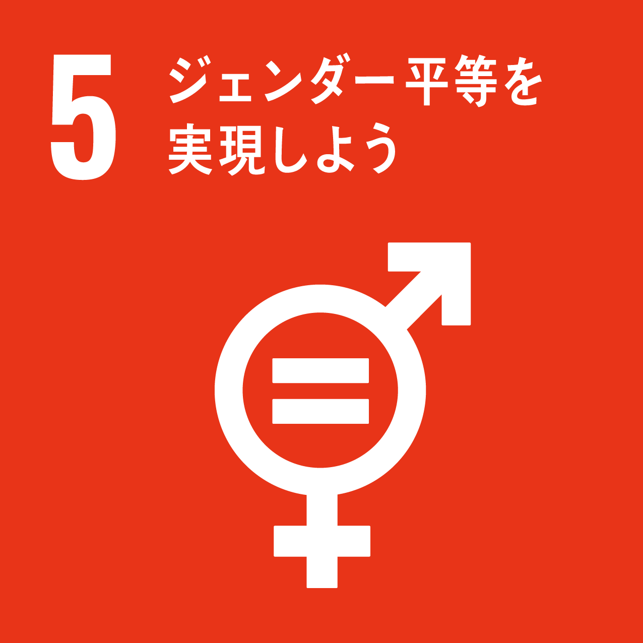 SDG's icon No5