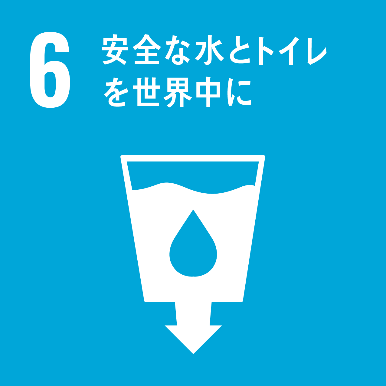 SDG's icon No6