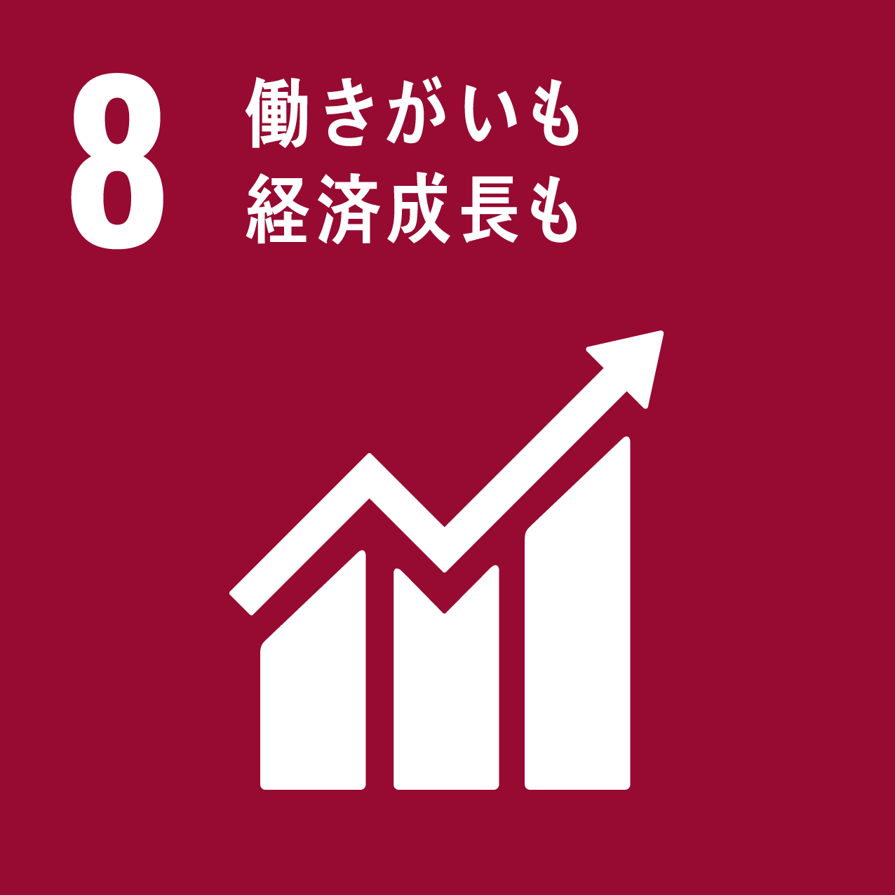 SDG's icon No8